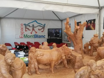 Stand dell'Espace Mont-Blanc